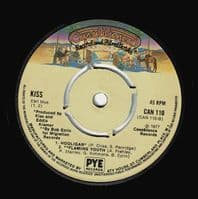 KISS Then She Kissed Me Vinyl Record 7 Inch Casablanca 1977